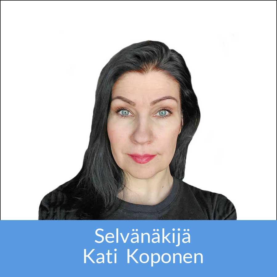 Selvänäkijä Kati Koponen